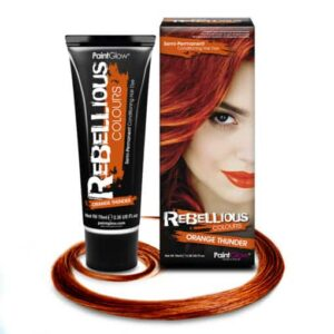 Orange Thunder hårfarve, orange hårfarve